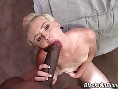 Black Dude Bangs Sweet Blond Slutie 1