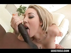 Hot Shaped Blonde Gets Deeply Pounded 2