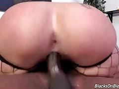 Nasty White Babe Greatly Enjoys Deep Pounding 1