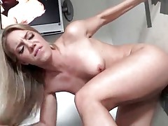 Candice Dare Is Fucked Through Glory Hole 1