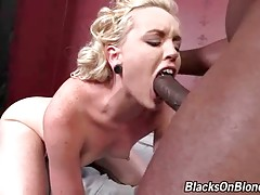 Sexy White Babe Enjoys Huge Black Cock 3