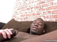 Breasted White Slut Has Fun With Black Stud 3