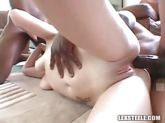 Pretty Blonde Gets Facefucked And Assdrilled 1