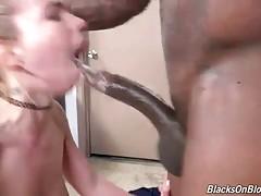 Black Stud Ruthlessly Assfucks White Slutie 2
