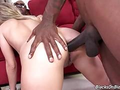 Black Guys Facefuck And Assdrill Hot Blonde 1