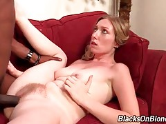 Tegan Riley Gets Pounded By Black Guy 1